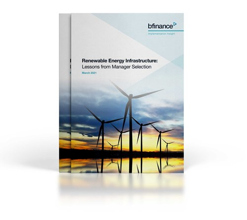 Renewable Energy Infrastructure